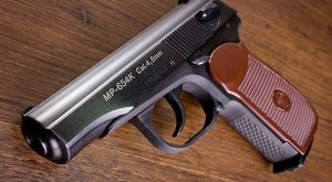 MP 654К (аналог пистолета Макарова)