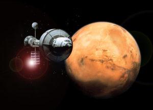 Расстояние от луны до марса