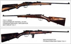 Мелкашки российского производства: винтовки для охоты ТОЗ-11,  ТОЗ-9,  ТОЗ-8, технические характеристики и цены