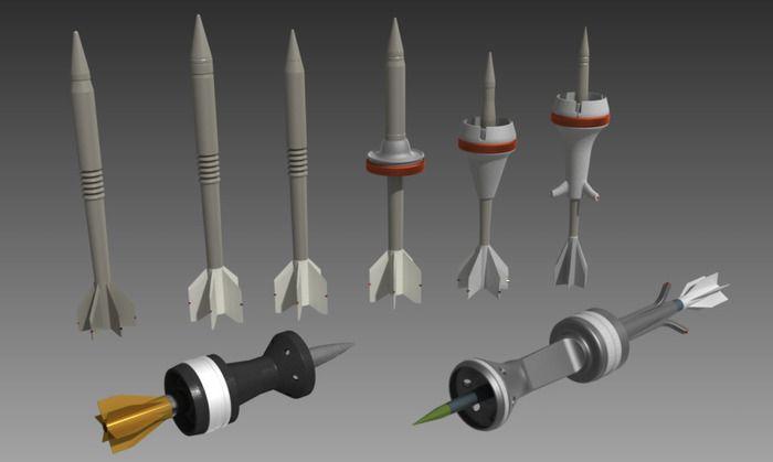 Хвостовые оперения подкалиберных снарядов